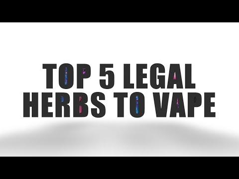 Top 5 Legal Herbs You Can Vape with Your DaVinci™ Vaporizers