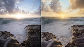 Landscape Photo Editing Session: Seascape Sky Replacement