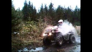www.QuadsUK.net  Quad Bikes In The Mud at Toms Farm UK ATV