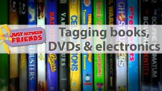 How to Tag Books DVDs and Electronics for JBF