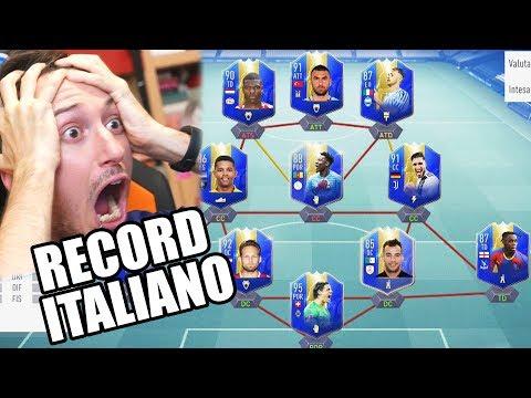 CE L'HO FATTA DI NUOVO! RECORD ITALIANO DI TOTS PRESO PER 2 VOLTE! - fifa 19 Fut Draft Challenge