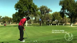 Short Game Golf Tip - How To Manipulate Trajectory With Your Sand Wedge