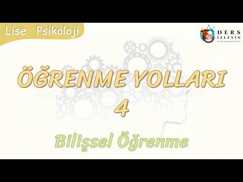 ÖĞRENME YOLLARI - 4 / BİLİŞSEL ÖĞRENME