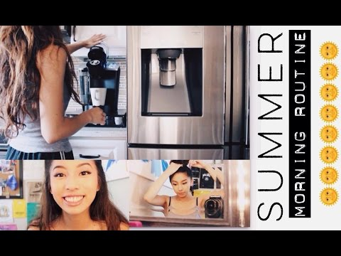 Summer Morning Routine 2015 // ☀❤