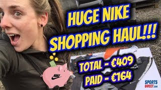 HUGE NIKE HAUL | Where To Find Cheap Nike Gym Clothes