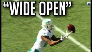 NFL Biggest Wide Open Pass Drops  HD