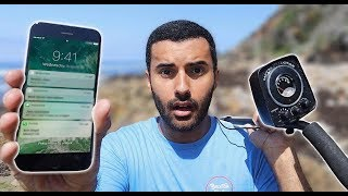 FOUND A iPHONE WHILE METAL DETECTING ON HIDDEN BEACH!!! YOU WON'T BELIEVE WHAT WAS ON IT..