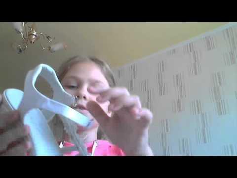 Свадебные туфли красные - YouTube