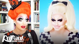 "The Pit Stop S13 E7 | Trixie Mattel & Bianca Del Rio Break Down ""Bossy Rossy "" 