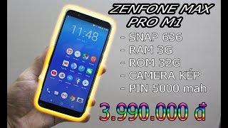 Đập hộp Zenfone Max Pro M1 giá 3tr990 mua từ Shopee!