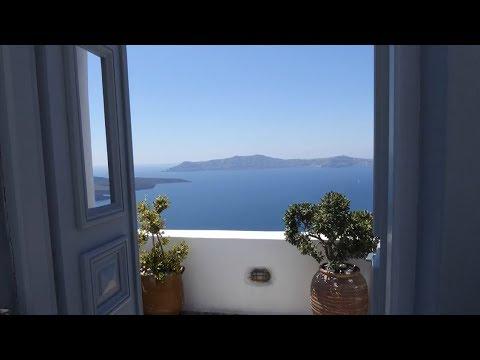 GREECE - SANTORINI, Greece holiday  -Exploring FIRA