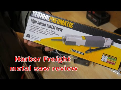 Harbor freight metal saw/ body saw review + Impala update and a  Thankyou