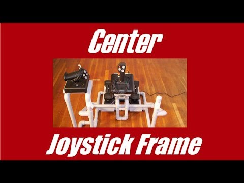 DIY Center Joystick Frame - YouTube