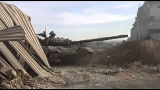 Танк Т 72  Боевые действия в Дарайе Сирия(, 2014-09-13T15:52:16.000Z)