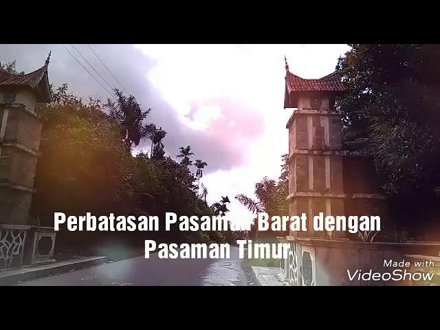 Kabupaten Pasaman,  Puncak Tonang Lubuk Sikaping