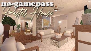 One story Pastel Suburban (no-gamepass) | BLOXBURG