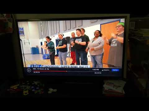 I was on the news at the pathway school on NBC 10