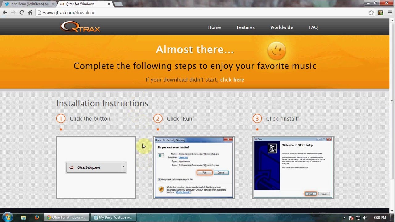 How To Download Qtrax Player HD - YouTube How To Download Qtrax Player HD