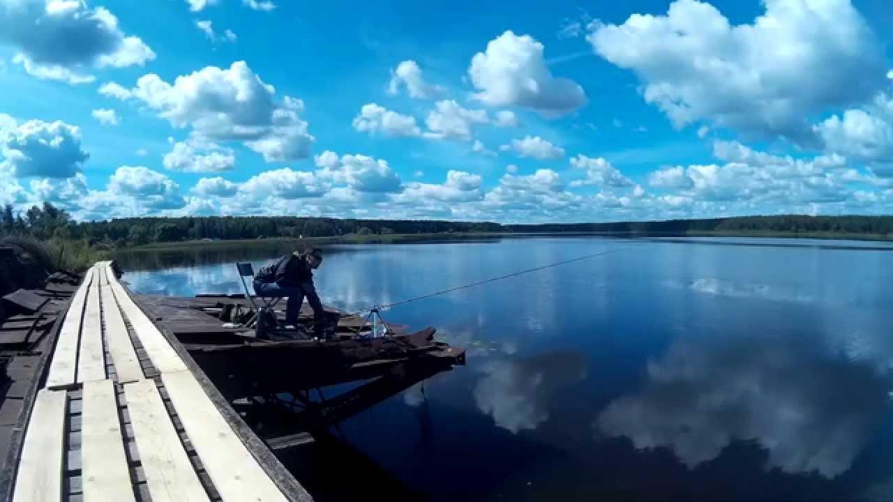Рыбалка на фидер в Дубне. Иваньковское вдхр. Ловля леща.
