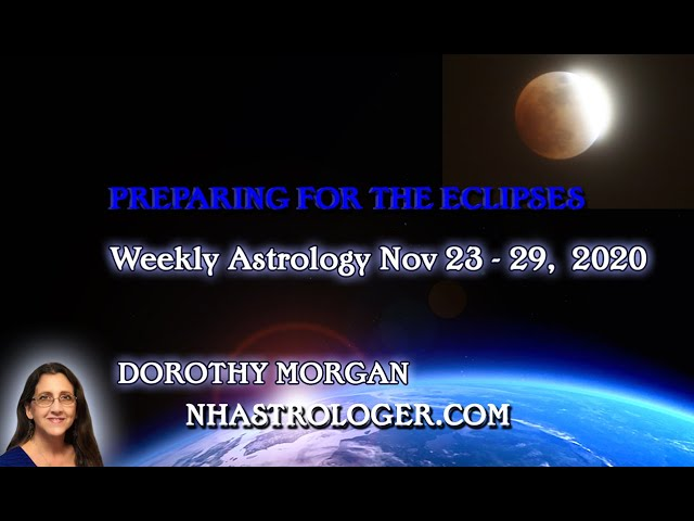 PREPARING FOR THE ECLIPSES NOVEMBER 23 – 29