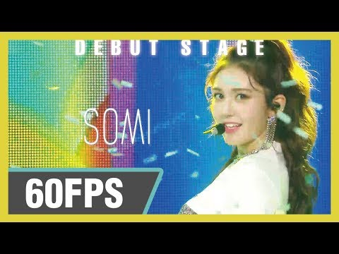 60FPS 1080P | SOMI (전소미) - BIRTHDAY Show! Music Core 20190615