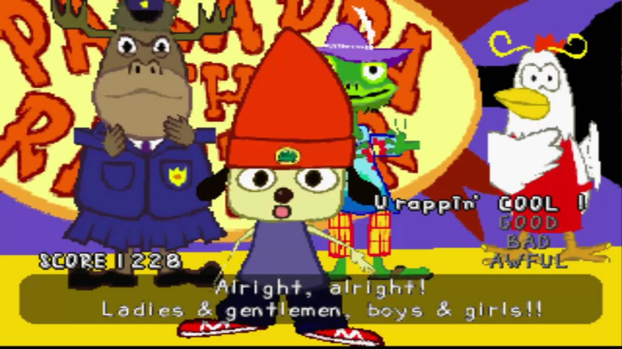 5ad44c0a42b PaRappa the Rapper - Stage 6 (I Gotta Believe!! w  Cool mode) - YouTube