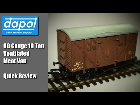 Dapol 00 Gauge 10 Ton Ventilated Meat Van – Quick review – Model Railways