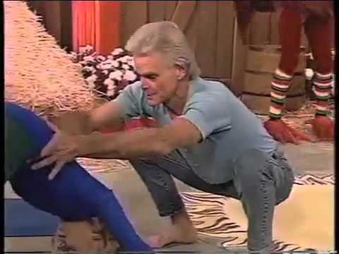 Weird Yoga Teacher On A Farm Kids Show FUNNY