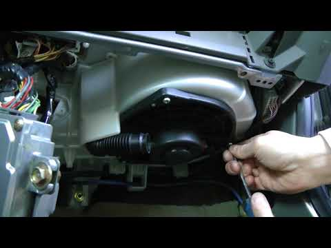 Acura RSX (2002-2006): Blower Motor And Blower Motor Resistor Replacement.