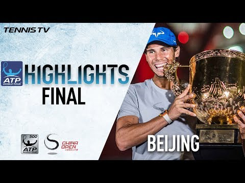 Highlights: Nadal Beats Kyrgios For 2017 China Open Title