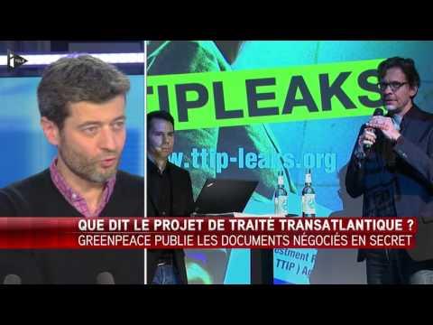 """Traité transatlantique: les Etats-Unis """"ne veulent pas travailler à un compromis"""""""