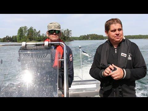 Kaatriga üle lahe Soome kalale