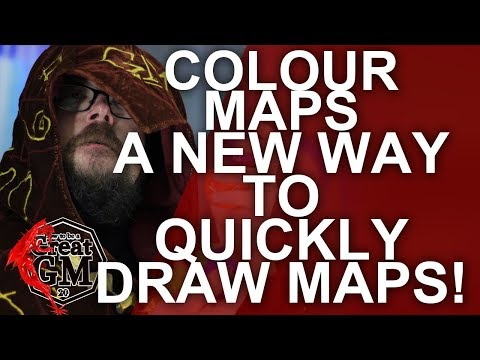 How To Design Colour Zone Dungeon Maps For Your RPG