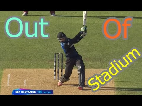 """Out Of the Stadium """"Huge Six"""" in Cricket Compilation"""