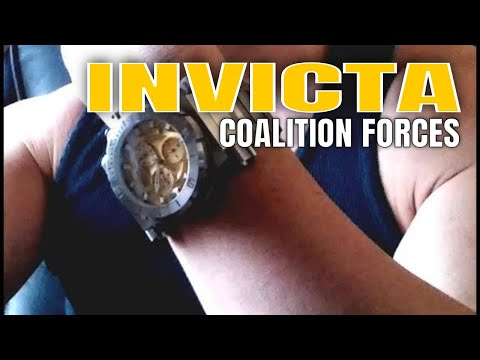 Invicta Watches Review : Invicta Coalition Forces Watch