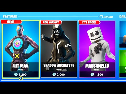 *NEW* FORTNITE SKINS OUT NOW! NEW ITEM SHOP UPDATE! (FORTNITE BATTLE ROYALE)
