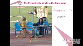 Long jump - Teaching the approach 4/5 (The penultimate stride)