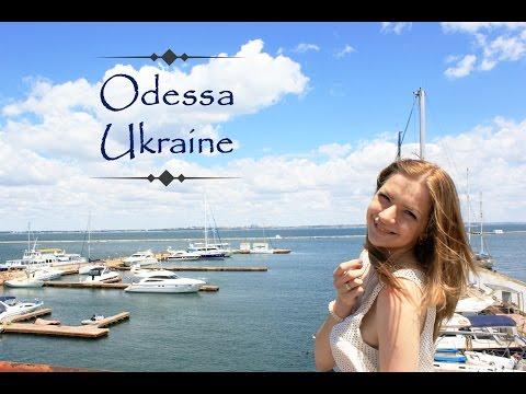 Vlog from Odessa, Ukraine. Night Odessa