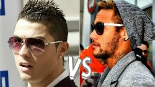 Neymar Jr vs Cristiano Ronaldo  Swag Clothing  Looks  HD