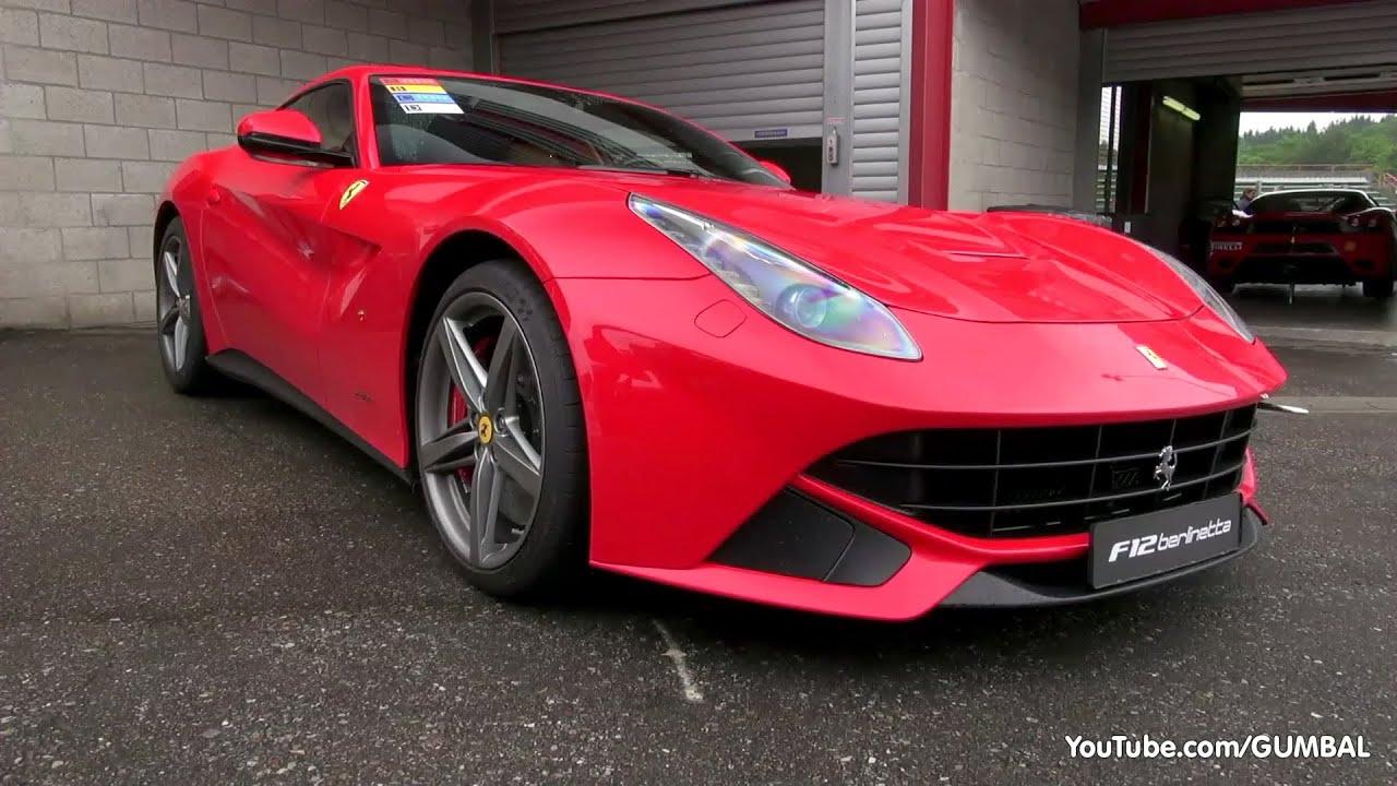 Ferrari F12 Berlinetta 740HP V12 - ly Sounds! - YouTube