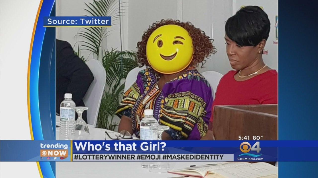 Trending Woman Wears Mask After Winning Lottery Youtube