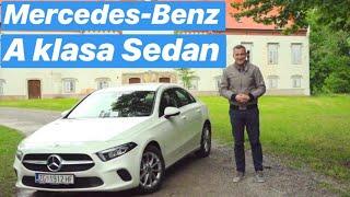 Najmanja, ali prava Mercedesova limuzina - Mercedes-Benz A klasa Sedan - testirao Branimir Tomurad