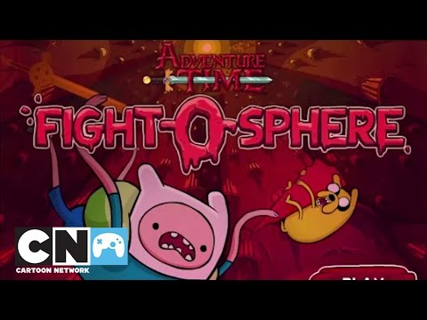 Adventure Time Fight-O-Sphere Playthrough | Games | Cartoon Network