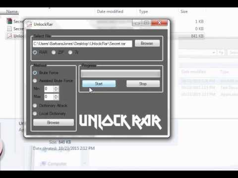 Remove password from rar file without any software unlock rar.