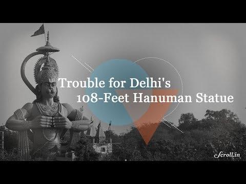 Hanuman Statue in Delhi's Karol Bagh in a Legal Battle