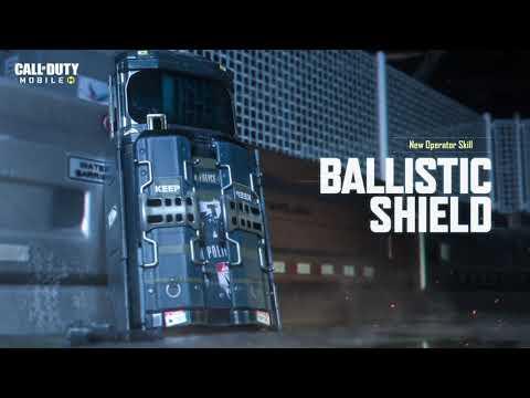 Call of Duty®: Mobile - Ballistic Shield Operator Skill
