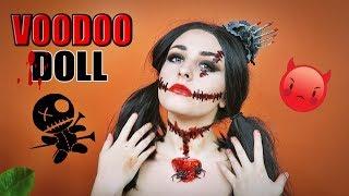 VOODOO DOLL  Makijaż na Halloween  Szanella