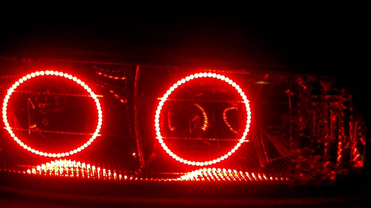 1st Ever 99 Quot Buick Century Halo Headlights Youtube
