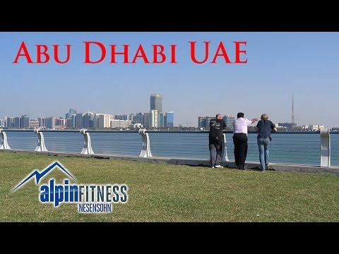 Abu Dhabi UAE - United Arab Emirates - Vereinigte Arabische Emirate - Business Trip October 2016