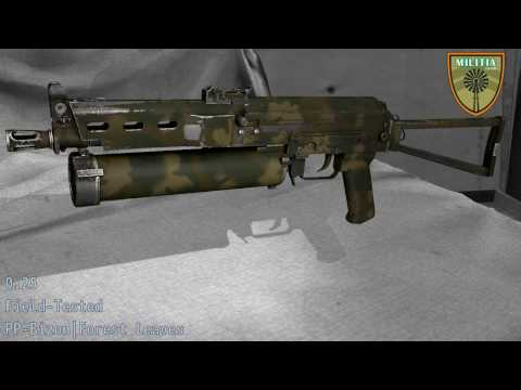 PP - Bizon Forest Leaves - Skin Wear Preview